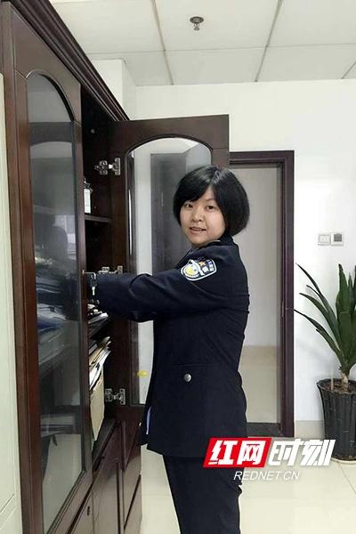 """【株洲公安】胡洁:经侦""""女汉子""""的自我修养"""