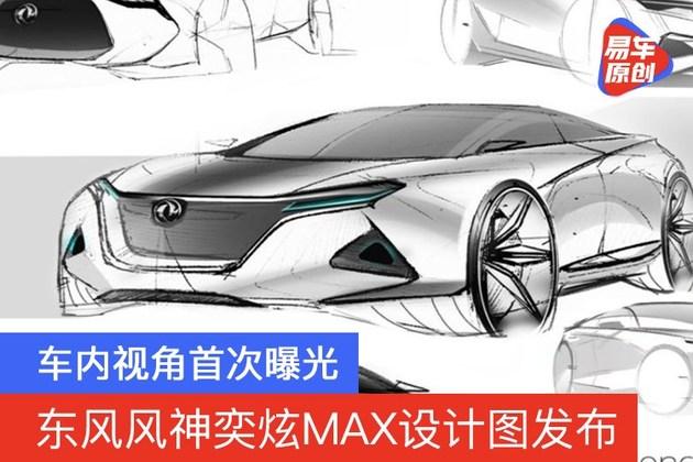 东风风神奕炫MAX设计图发布 车内视角首次曝光