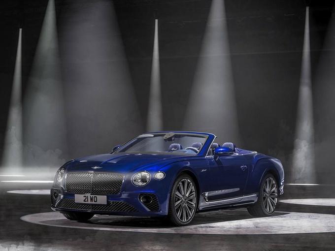 宾利欧陆GT新车型曝光!搭W12引擎,双出排气,折叠敞篷设计