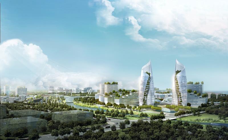 上海要在这个新城建设未来都市天际线