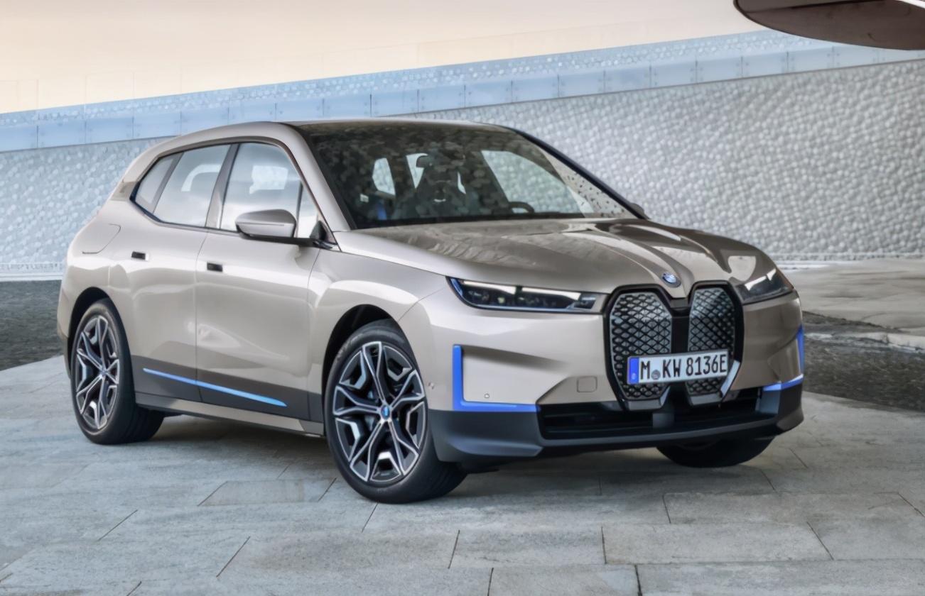 2021上海车展提前看:宝马全新纯电SUV—iX来袭,马力可达503匹