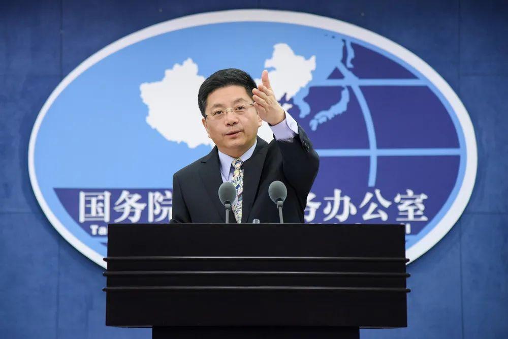 """台湾省某人说若开战""""台会战斗到底"""",国台办回应图片"""