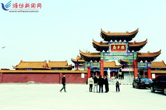 重走渤海走廊|瓦城起义旧址复建孙子庙