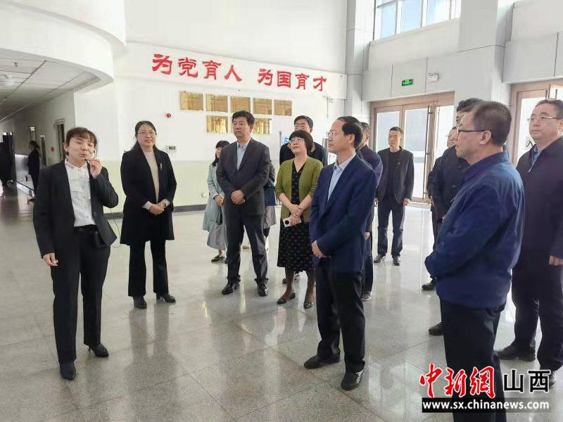 李青山赴临汾开展建设高水平职业院校专题调研