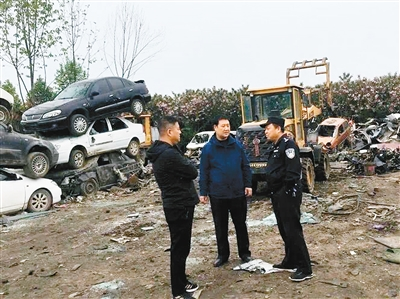 我市生态环境部门检查涉固废危废企业