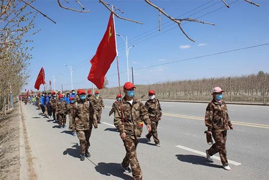 新疆生产建设兵团第三师四十八团开展综合实践活动