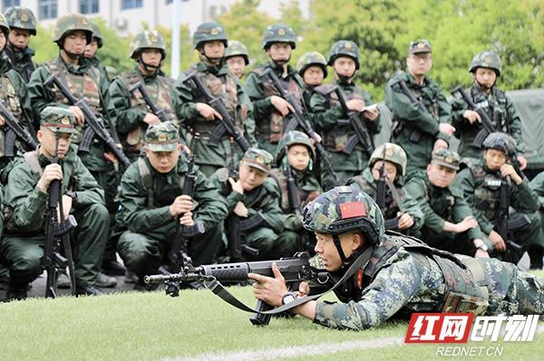 武警湘西支队:勤训轮换集训队 真打实练砺精兵