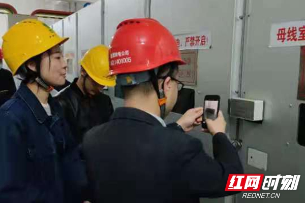 湘潭电网智慧变电站通过集中验收