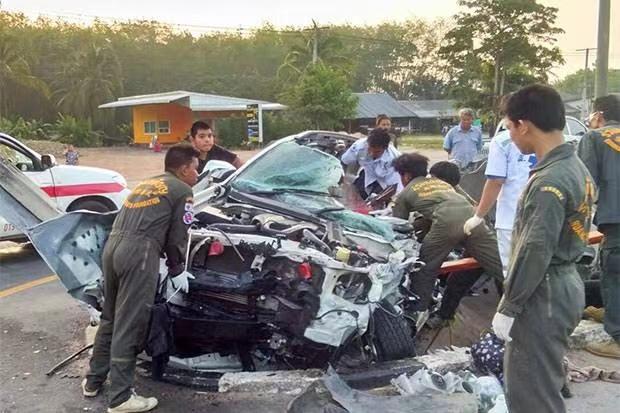 泰国新年宋干节 6天里因交通肇事致死238人