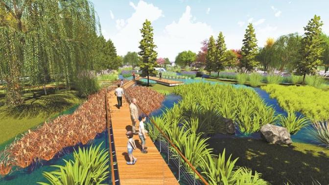 无锡西太湖湿地公园年底建成