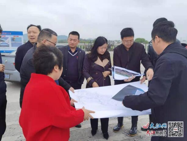 九江市自然资源局赴赛城湖调研城市项目建设工作(图)