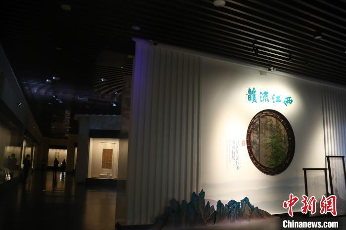 朱耷、傅抱石等江西明清至近现代65位书画家佳作展出【组图】
