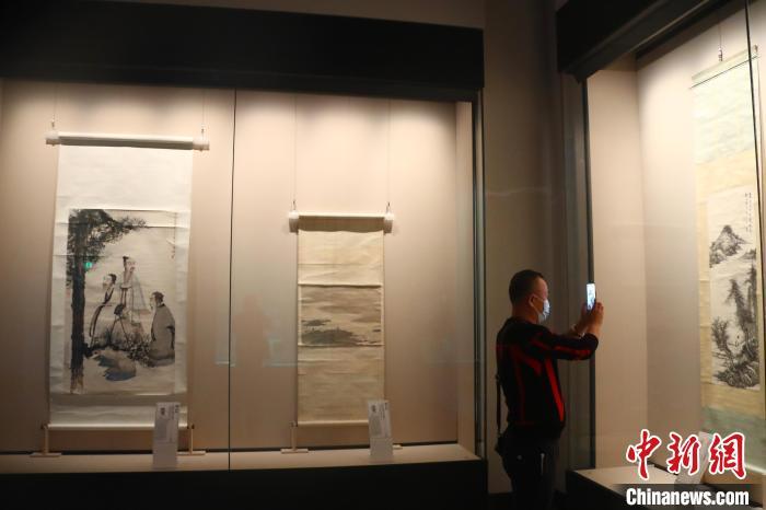 朱耷、傅抱石等江西明清至近现代65位书画家佳作展出