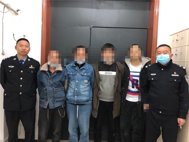桑植澧源派出所两天抓获7名嫌疑人