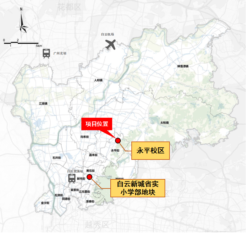 广东实验中学两大校区落子白云,规划132个班