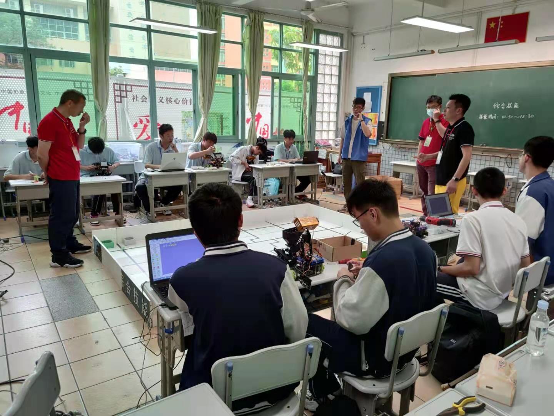 中山市青少年机器人竞赛吸引了近600名师生!