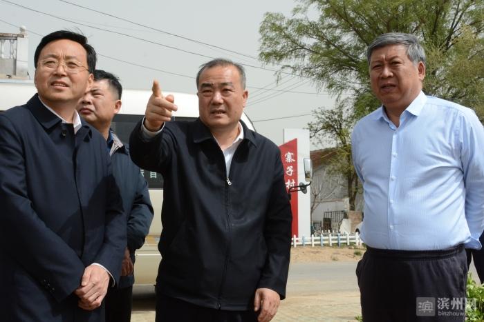 滨州市委副书记张月波到徒骇河滨城段开展巡查工作