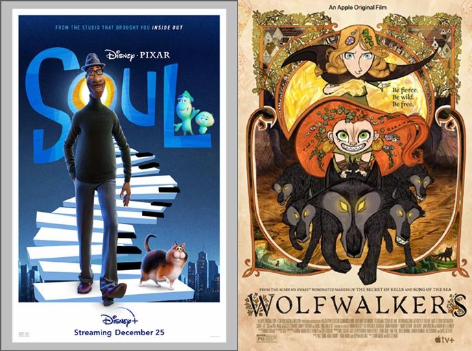 第48届美国动画安妮奖公布,《心灵奇旅》《狼行者》为最大赢家