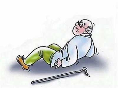 健康教育   老年人,当心跌倒