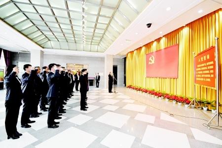 山西综改示范区组织党员干部到中共太原支部旧址纪念馆参观学习