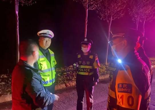 滨州惠民县境内发生一起肇事逃逸事故 民警连夜开展工作锁定肇事车辆及司机