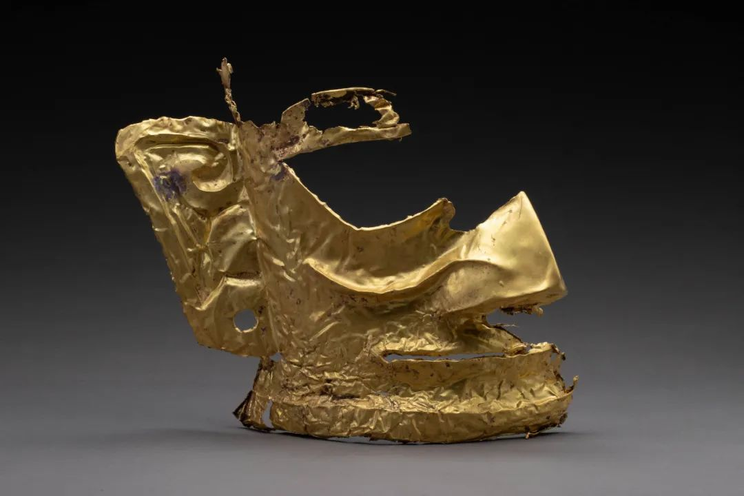"""这个三星堆黄金面具,竟是用""""米""""做的"""