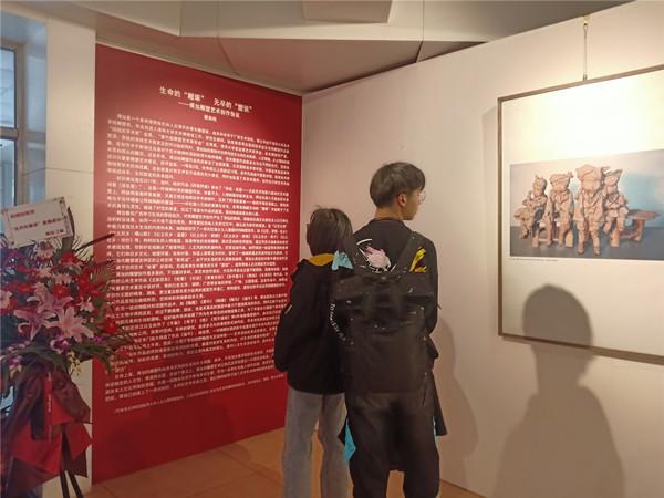 """雕塑家傅加首次个展""""无尽的塑说""""亮相北航艺术馆"""
