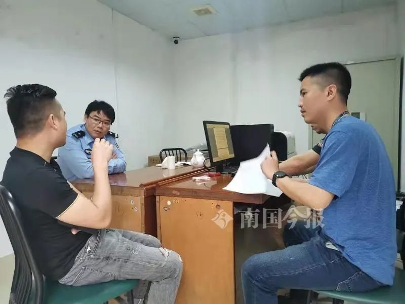 柳州警方还原团圆细节