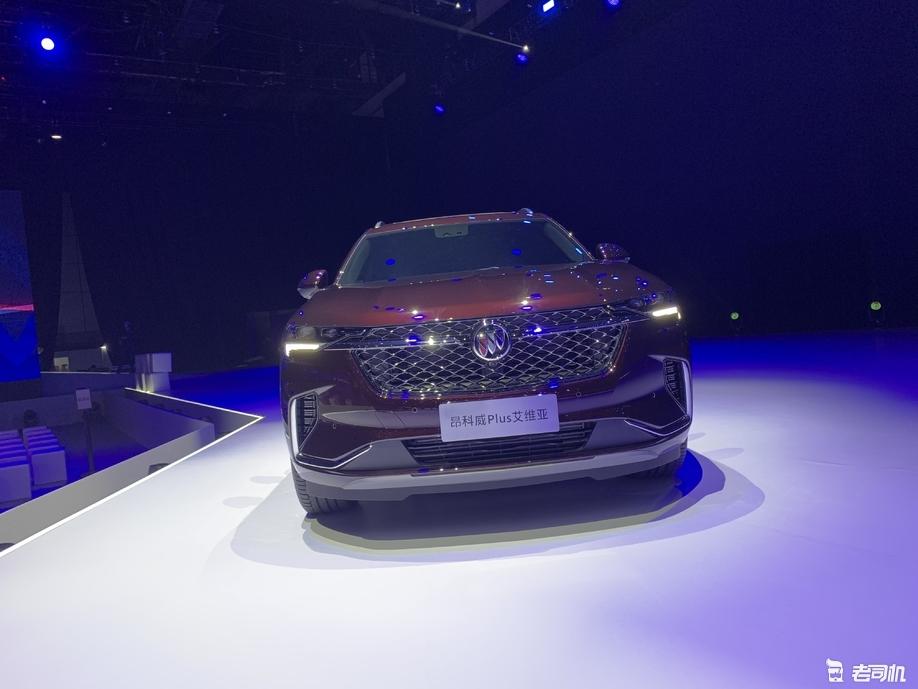 车身长度达4845mm/7座布局 上汽通用别克昂科威Plus正式发布
