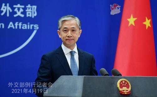 """外交部回应""""美日领导人联合声明提台湾海峡和平稳定重要性"""""""