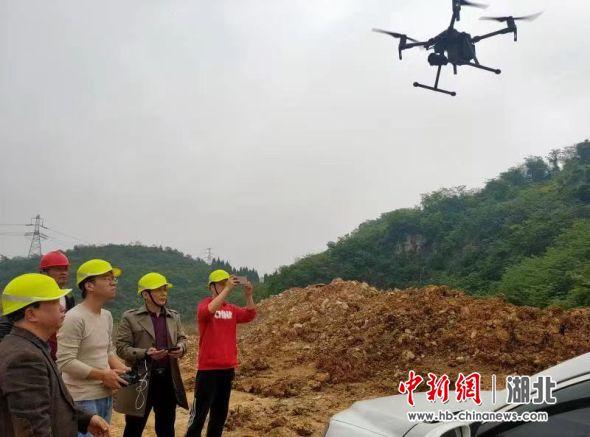 湖北宜昌:无人机巡航执法 助力露天矿山安全监管