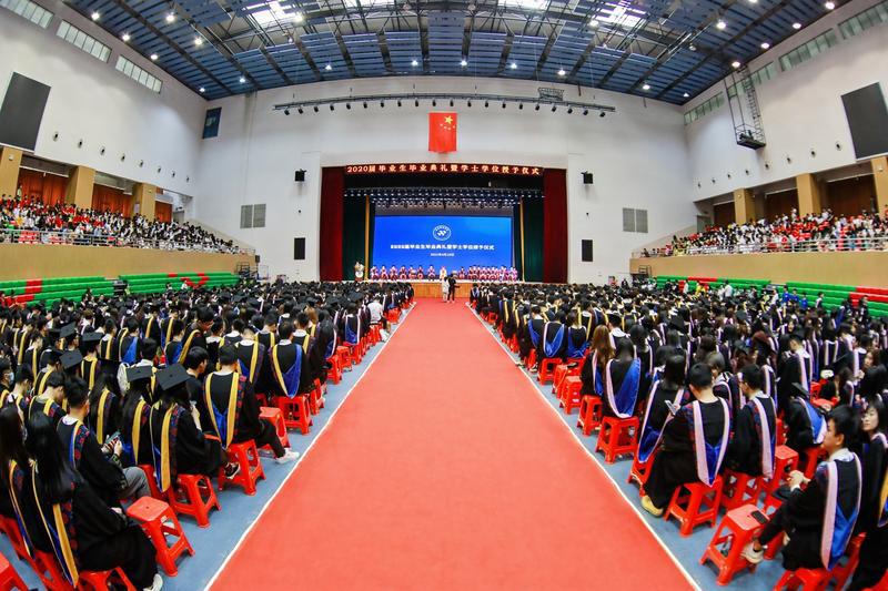 广东科技学院为2020届毕业生补办毕业典礼