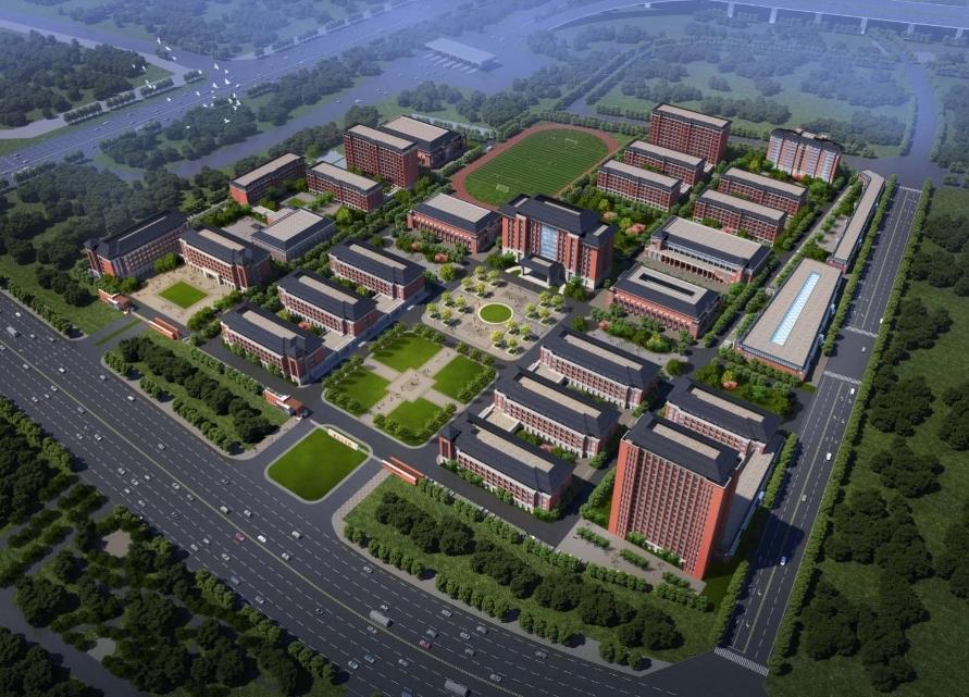 输送专业技能人才,新华教育集团(四川)高等职业教育产业园在新津动工建设