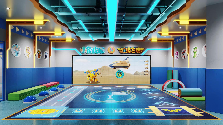 让教育开店更简单,「小象皮尼」为儿童提供双屏互动的游戏化体能培训课程