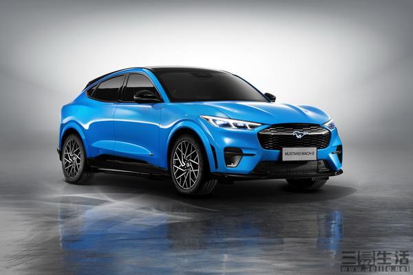 长安福特Mustang Mach-E已在本届上海车展上市