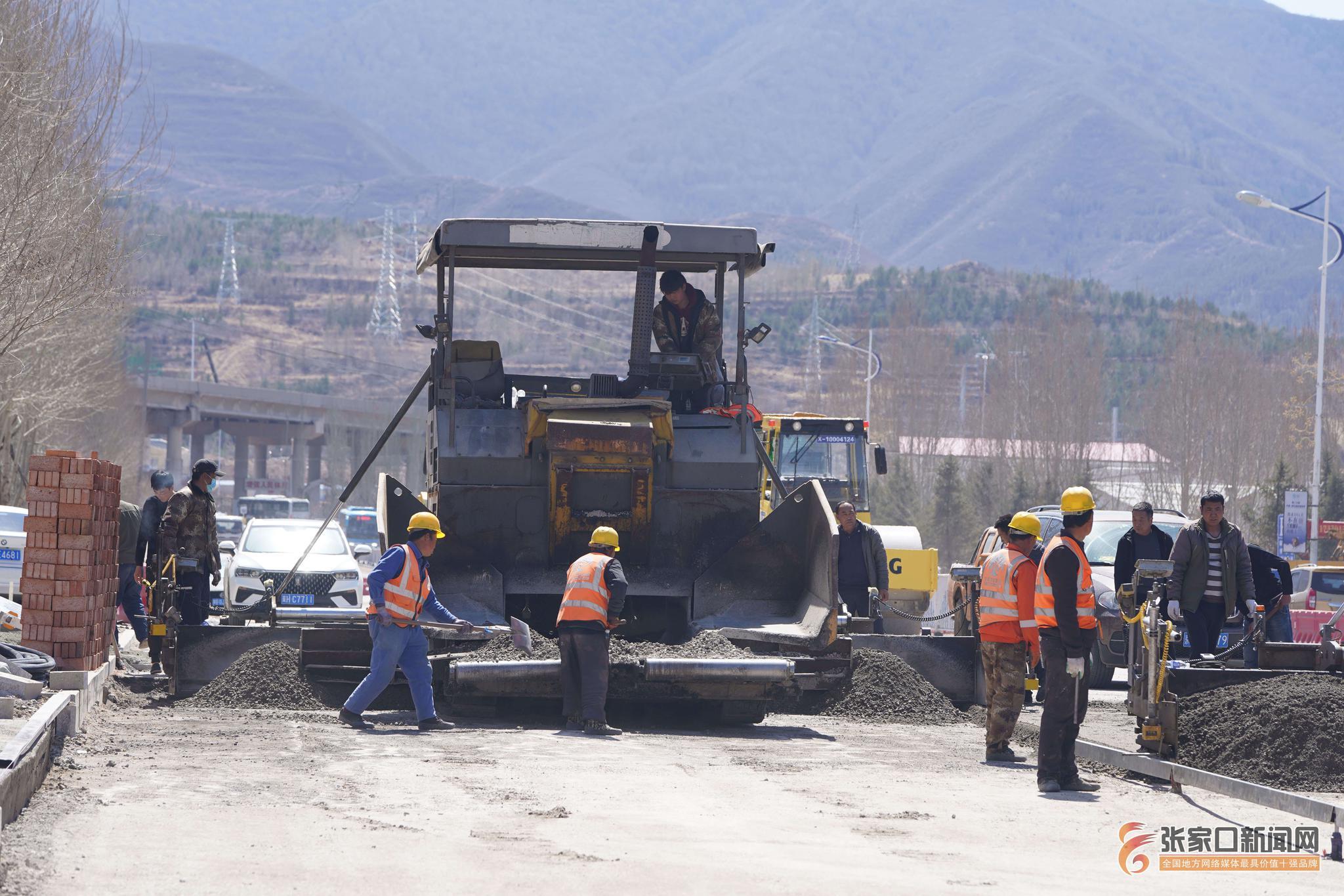 崇礼城区道路提升改造