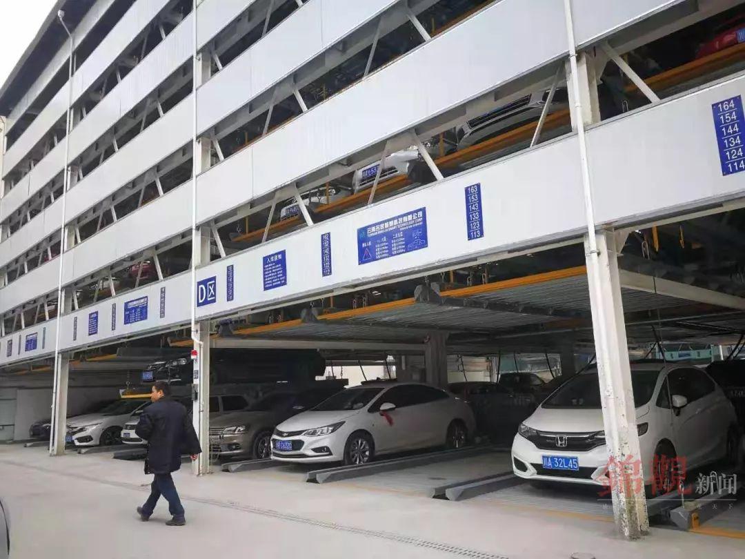 今年成都中心城区将建33个公共停车场