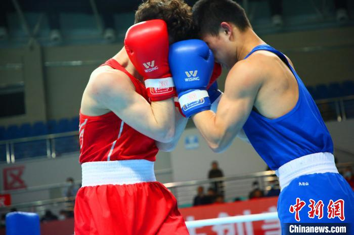 2021年全国男子拳击锦标赛在湖北枝江开幕