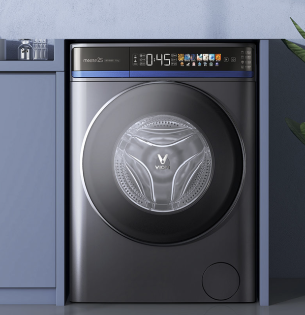 云米AI洗衣机Master 2S推出 超轻薄机身+紫外线杀菌