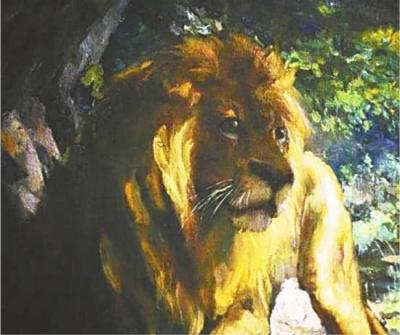 徐悲鸿巨作《奴隶与狮》再现拍卖场