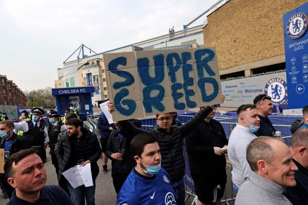 欧超联赛创立两天就崩塌 他们是怎样激怒了所有人
