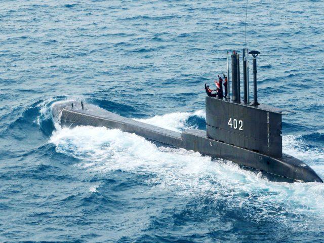 印尼潜艇失联:德国制造,载有53人