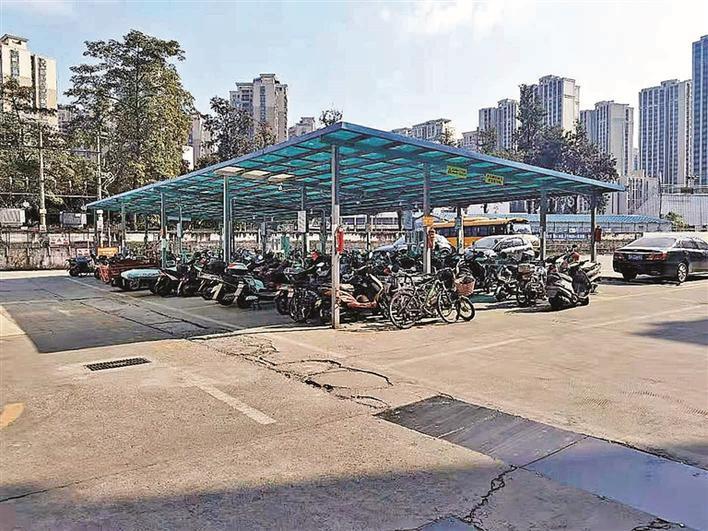 沙井街道:加强电动自行车充电驿站建设