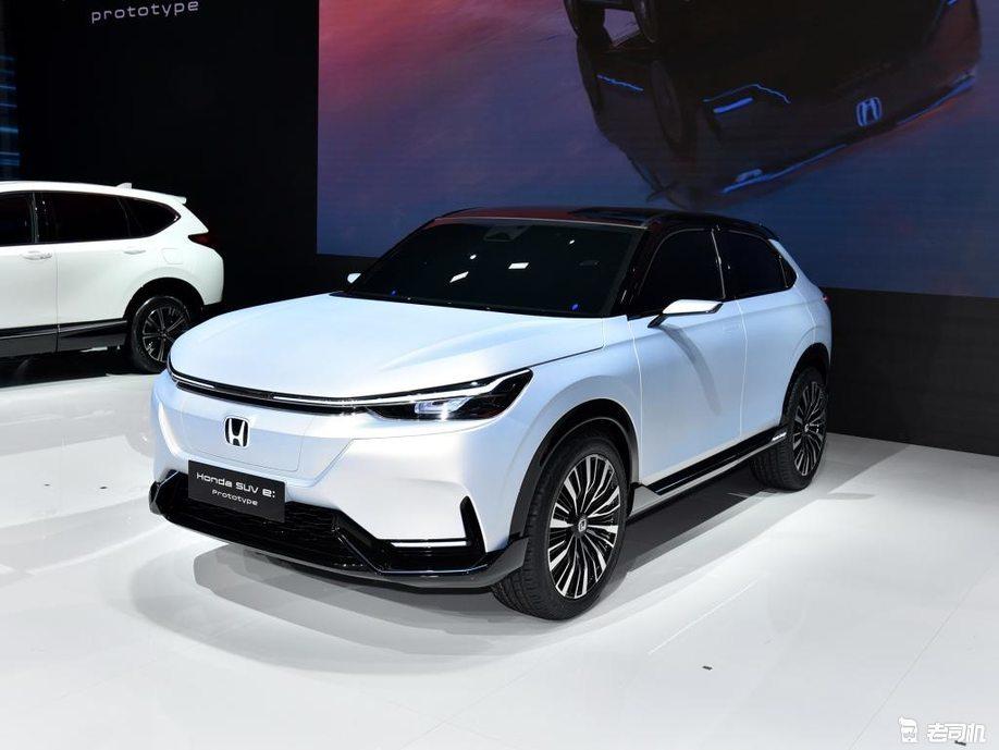 2021上海车展:本田Honda SUV e:prototype原型车亮相