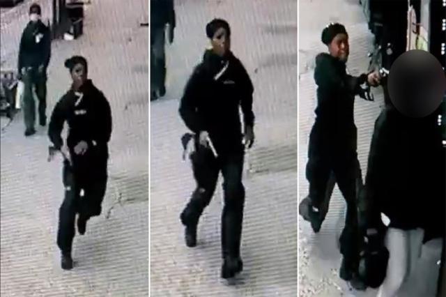 美国女子被人当街爆头,枪手朝其后脑勺近距离射击