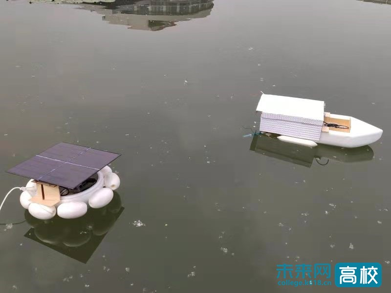 """南京邮电大学学生创新团队发明水质监测技术 为水安全""""保驾护航"""""""