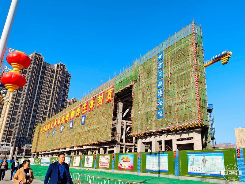 期待吗?甘肃简牍博物馆今年底将建成开放