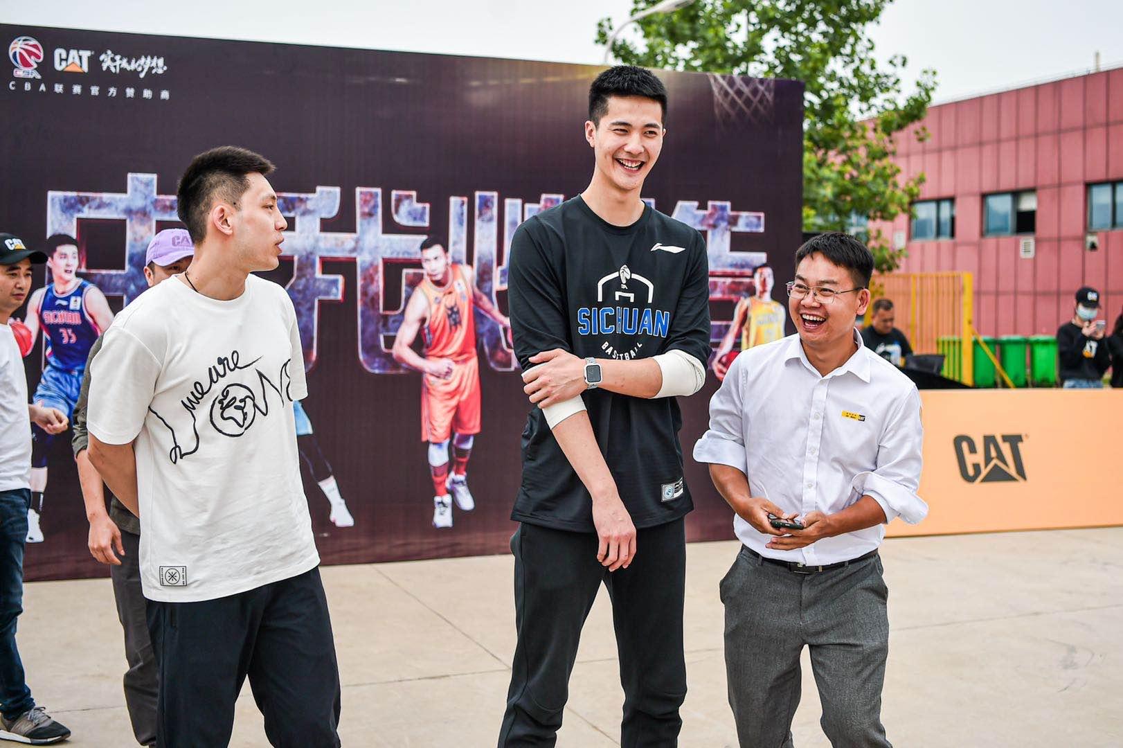 朱松玮、景菡一、袁堂文现身球迷见面会,对荣誉的饥渴感促使他们不断提升