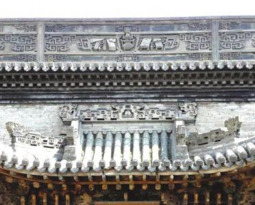 陵川书鼓砖雕