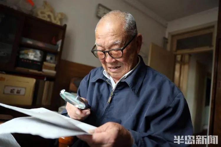青岛91岁老人想登一份寻人启事!名字刚说完,就已老泪纵横…